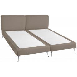 Kétszemélyes kárpítozott ágy Iva Chicago