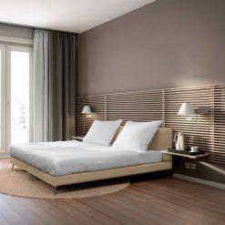 Egyszemélyes kárpítozott ágy Iva New York