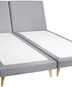 Kétszemélyes kárpítozott ágy Xara New York