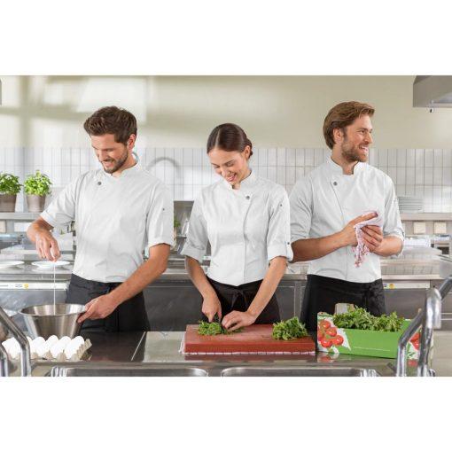 Férfi szakácskabát Carter rövid ujjú