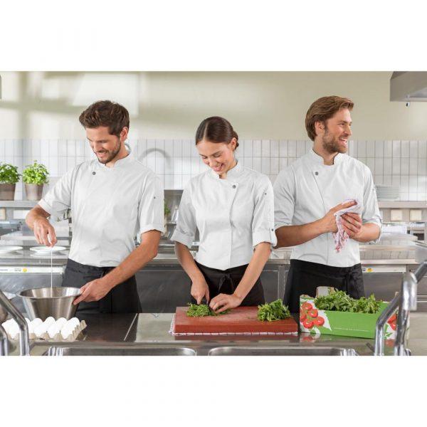 Férfi szakácskabát Carter hosszú ujjú