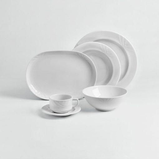 Mintaszett - porcelán készlet Kiara 5db