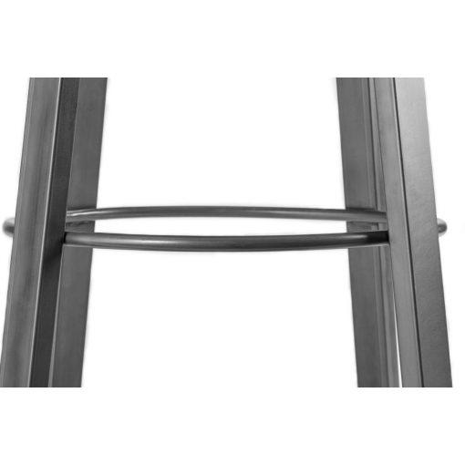 Bárszék Metalio kárpitozott ülőrésszel