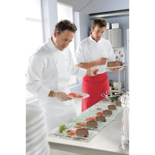 Férfi szakácskabát Samuel hosszú ujjú