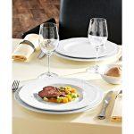 Lapos tányér Zürich 17-32cm