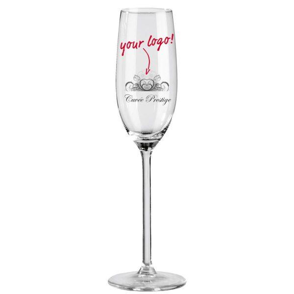 Pezsgős pohár Allure töltésszintjelző nélkül