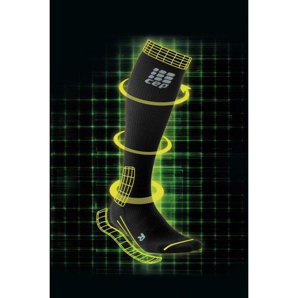 Férfi ergonomikus zokni