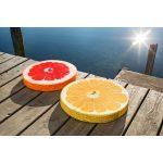 Ülőpárna - gyümolcs minta