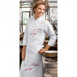 Női szakácskabát Pauline hosszú ujjú