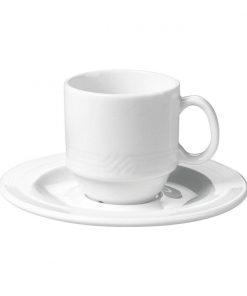 Tejeskávé csésze Monaco (rakásolható)