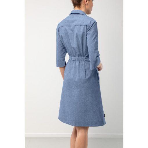 Patentos női ruha Livia Chambray