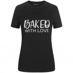 "Női póló ""Baked with love"""