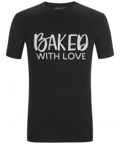 """Férfi póló """"Baked with love"""""""